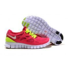 Nike Free Run+ 2 Rot Weiß Frauen
