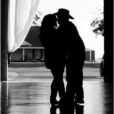 Silhouette Sweethearts. Miranda McCollough and Michael Fulbright had an awesome photo session Sunday afternoon. Bauer Ranch is honored to be hosting their wedding on April 11, 2015.