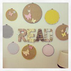 DIY little girl's room