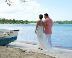 Walk on the beach.....dress by Maggie Sottero