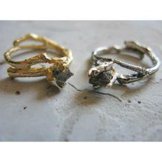silver branch wild diamond ring | Linda Friedrich Jewelry