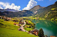Mountain Valley, Grindelwald, Switzerland