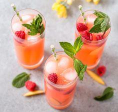 Raspberry Peach Lemonade | HealthShoot