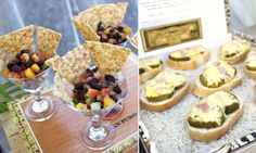 Havana Nights Party - Celebrations at Home Cuban Toasties & black bean salsa<br> Take your guests to Cuba with this Havana Nights party. This theme party is perfect for summer entertaining. Get ideas for decor, food, cocktails, and more. Havanna Nights Party, Havanna Party, Havana Nights Party Theme, Cigar Party, Martini Party, Light Appetizers, Cuban Recipes, French Recipes, Havana Nights