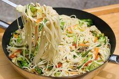 Receta china de Chop Suey