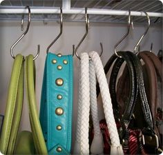 Delightful Closet Organization For Scarves With A Curtain Rod And Shower Rings | Home  Organization | Pinterest | Closet Organization, Hang Scarves And  Organizations