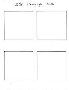 blank worksheet for creating your own zentangles zentangle artful healing pattern. Black Bedroom Furniture Sets. Home Design Ideas