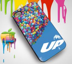 Up Disney Pixar Ballon Custom iPhone 4 or 4S Case - PDA Accessories