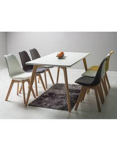 Stół Milan 140 biały/dąb