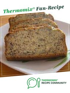 Delikatessbrot Delicious bread from Kiwi's Nest. A Thermomix ® recipe from the Bread & Buns category www.de, the Thermomix ® community. Pampered Chef, Banana Recipes, Jam Recipes, Sweet Recipes, Kiwi, Thermomix Bread, Bread Bun, Cake Flavors, Food Menu