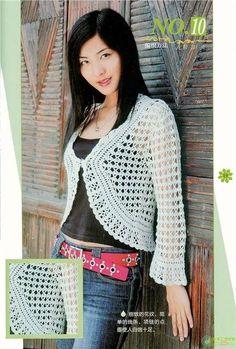 Free Pattern for Crochet Summer Bolero - Beginner Crochet Bolero Tips | Crochet patterns | Bloglovin'