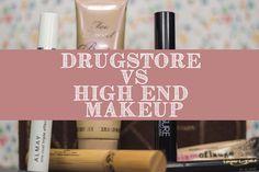 Drugstore vs High End Makeup