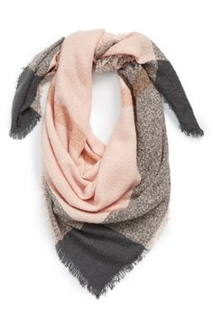 Free shipping and returns on David & Young Square Blanket Scarf at Nordstrom.com. The perfect complement to breezy afternoons, this rustic plaid-border scarf offers an irresistibly cozy feel and endless wardrobe versatility.