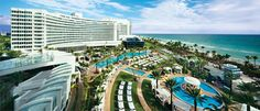 Fontainebleau in Miami - Love this hotel.