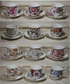 Royal Albert - Flower of the Month - Series www.royalalbertpatterns.com