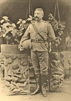 This photo of Gronville Bromhead VC was taken in India, presumably not long before he died (February 1891).