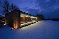 Modern House Design : The Long Barn Studio by Nicolas Tye Architects