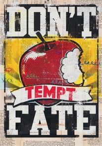 Design Inspiration   Don't Tempt Fate   From thebevlak via designinspiration.net