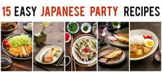 15 Easy Japanese Party Recipes @justonecookbook