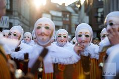 Belgium, carnival of Binche. UNESCO World Heritage Parade Festival © Sergi Rebored
