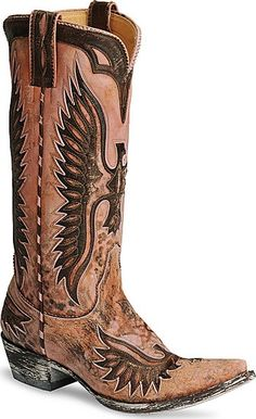 Amazing Vintage Cowgirl Boots