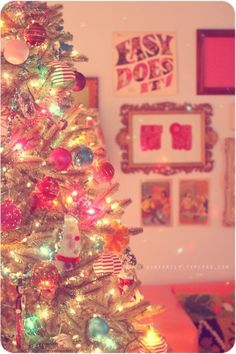 Vintage christmas tree by Agalove