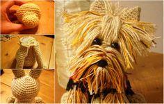 How to Crochet Yorkie Dog? A Friend Will Accompany You As You Crochet…