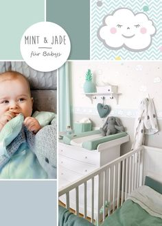 I balloon baby room clouds children mint jade gray nursery decor gray new decor mint. Baby Bedroom, Baby Boy Rooms, Baby Boy Nurseries, Baby Cribs, Nursery Room, Kids Bedroom, Nursery Decor, Bedroom Ideas, Baby Decor