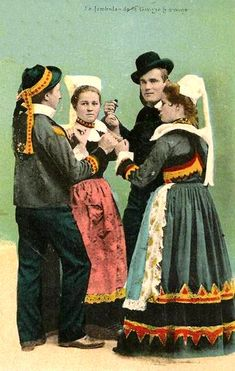 Bretagne : danse bretonne