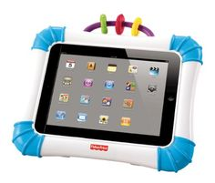 Fisher-Price Laugh  Learn Case for iPad Devices Fisher-Price http://www.amazon.com/dp/B0072BKZOQ/ref=cm_sw_r_pi_dp_kYPStb0M3X17NN0M
