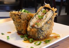 Panko fried spam musubi. There's a concept.