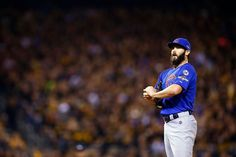 Jake Arrieta, CHC //NL Wildcard at PIT , Oct 2015