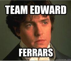 "The Original ""Team Edward"" :) - Sense and Sensibility"