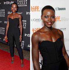 Lupito Nyong'o - what a beauty! I love her style!