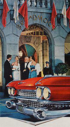 Cadillac #cadillac #advertisement #nyc #vintage #classic #potamkinnyc