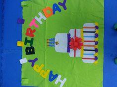 Birthday background classroom