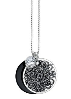 Thomas Sabo Special Additions Disc Pendants - so Baubles And Beads, Thomas Sabo, Girls Best Friend, Chakra, 1920s, Love Fashion, Diamonds, Bling, Pendants