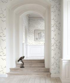 8 id es d co avec le papier peint astuce d co 5 jouer avec la profondeur p - Saint maclou tapisserie ...