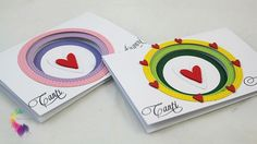 Card tiered and two video tutorials - The Creative Couple