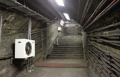 Bits of the sprawling Embankment stations, those left behind when the current tube station was created.