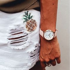 Summer outfit #Pineappleaddict #verymojo #montres #watches #summer #summervibes #pineapple #ootd #outfitoftheday #tothemoon
