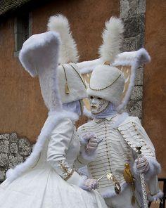 Carnaval Vénitien d& Venice Carnival Costumes, Mardi Gras Carnival, Venetian Carnival Masks, Carnival Of Venice, Carnival Makeup, Venice Carnivale, Venice Mask, Costume Venitien, Beautiful Mask