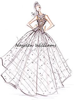 Hayden Williams Haute Couture Spring-Summer 2012 collection finale