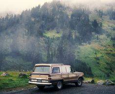 Jeep Wagoneer. Comfortable where the road ends...and beyond.