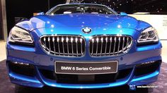 2017 BMW 6 Series 650i xDrive Convertible - Exterior and Interior Walkar...