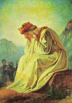 JEZUS en MARIA Groep.: De VERSCHIJNING van MARIA 19 sept 1846 te La Salette (franse alpen)