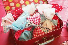 cute little fabric bags