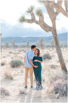 Images: Erica Noelle Photography Flower Crown: Sweet Stems Florist Location: Joshua Tree Dresses: Chicaboo Maternity and Filly Boo Maternity