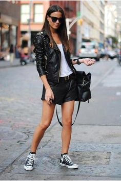 I also like the rocker girl style