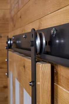 Sliding & Hanging Barn Door Track Systems Shop sliding door tracks & hanging barn door hardware styles like ceiling mount hardware, flat track, box track, & j track hardware in custom colors & finishes! Barn Door Track System, Sliding Barn Door Track, Sliding Barn Door Hardware, Sliding Doors, Rustic Hardware, Track Door, Window Hardware, Bathroom Barn Door, The Doors